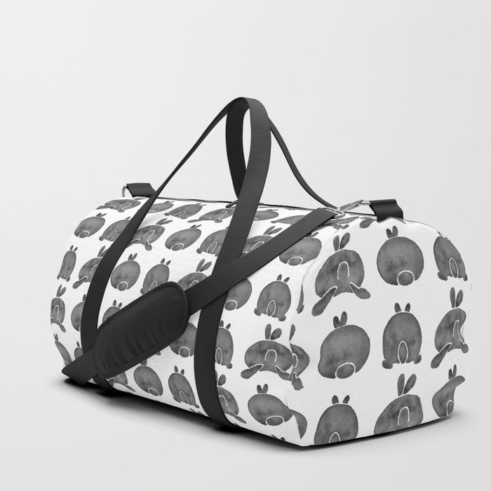 Bunny Butts - Black Palette Duffle Bag