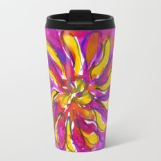Bright Flower Travel Mug