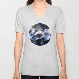 Full moon II Unisex V-Neck