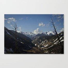 Silverton Valley - Colorado Canvas Print