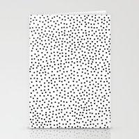 dots Stationery Cards featuring Dots.. by Priscila Peress