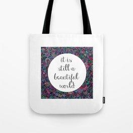 A Beautiful World Tote Bag