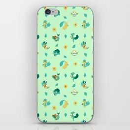 Grass Starters iPhone Skin