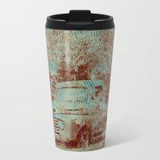 1950 Ford F100- Textured Rust Travel Mug
