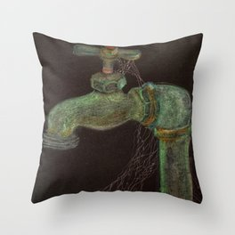 Idle Spigot Throw Pillow