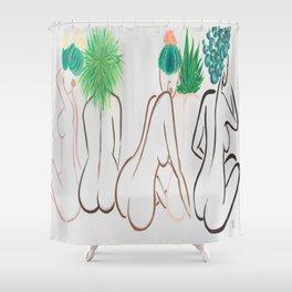 A Fern Among Us Shower Curtain