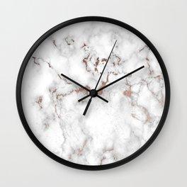 Eureka Rose Marble Wall Clock
