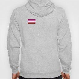 Gay Pride LGBT Lipstick Lesbian Rainbow Flag design Hoody