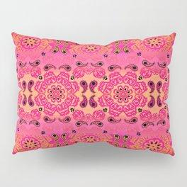 Pink Haze Bandana Ombre' Stripe Pillow Sham