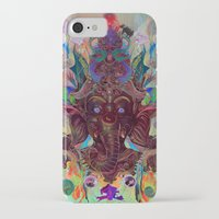 ganesha iPhone & iPod Cases featuring Ganesha by Archan Nair