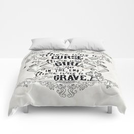 Beautiful Creatures - Grave - White Comforters