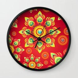 nib the bud Wall Clock