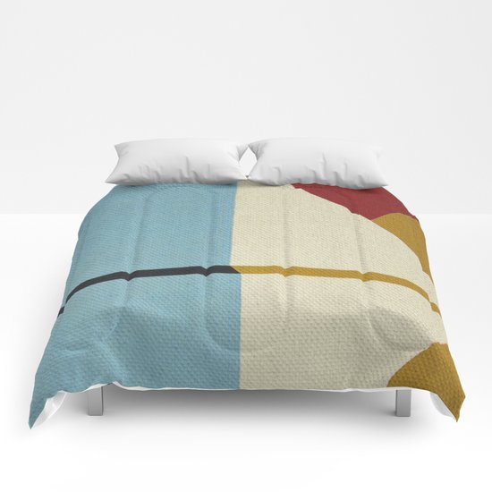 Geometric Thoughts 2 Comforters