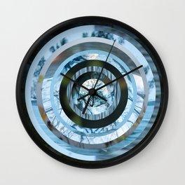 WATER AND MIRRORS Wall Clock
