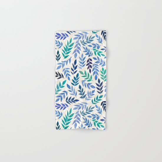 Blue Forest Hand & Bath Towel