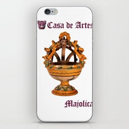 Majolica Incense Burner - Casa de Artes iPhone Skin