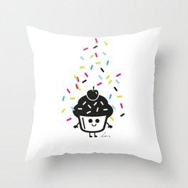 Pimp My Cupcake Throw Pillow
