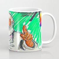 sketch Mugs featuring Sketch by Alec Goss