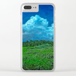 The Great Outdoors by Dee Flouton Clear iPhone Case