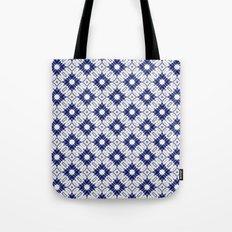 Watercolor Shibori Blue Tote Bag