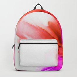 Alcohol Ink flower abstract Backpack