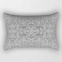 M zigzag Rectangular Pillow