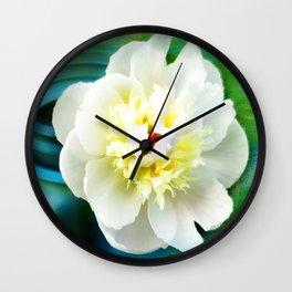 Summer White Wall Clock