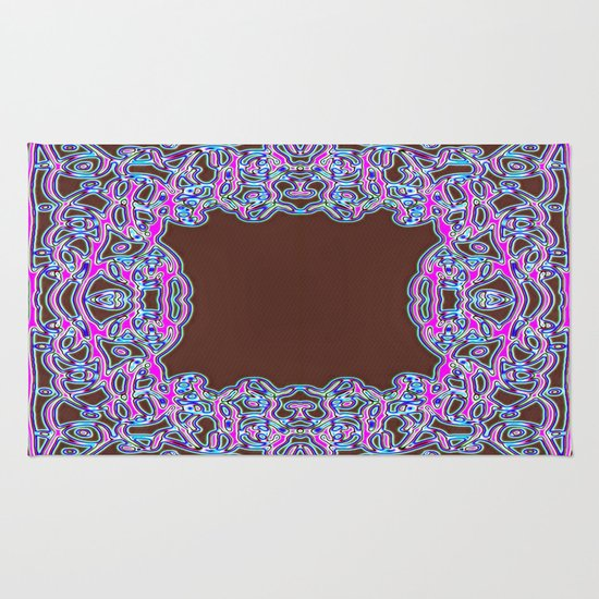 In The Pink Colorfoil Bandanna Rug