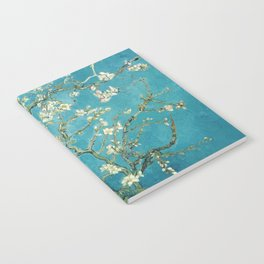 Almond Blossoms by Vincent van Gogh Notebook