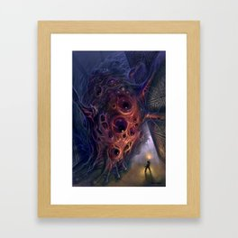 The Mountains of Madness Framed Art Print