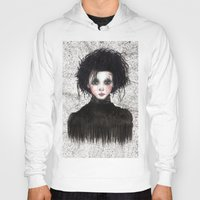 edward scissorhands Hoodies featuring Edward Scissorhands by ARTEMYSA