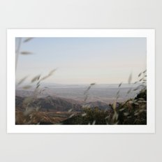 Rolling hills 2 Art Print