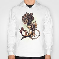 seahorse Hoodies featuring SEAHORSE by Tim Shumate