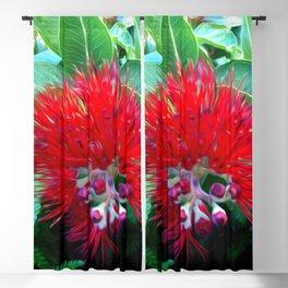 Liko Lehua - Budding Lehua Blossom Blackout Curtain