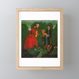Death of the Burryman Framed Mini Art Print
