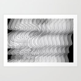 Multiplied Parallel Lines No.: 02. Art Print