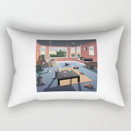 "Hippo Campus - ""Landmark"" Lyrics Rectangular Pillow"