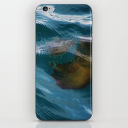 under sea jelly iPhone Skin
