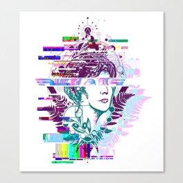 Aphrodite glitch Canvas Print