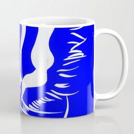 Eye Of The Tiger - Navy Coffee Mug