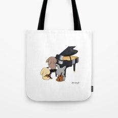 Bunny Trio Tote Bag