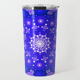 Blue Mandala Travel Mug
