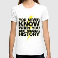 history T-shirts featuring HISTORY by Silvio Ledbetter
