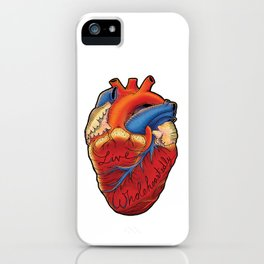 Live Wholeheartedly iPhone Case