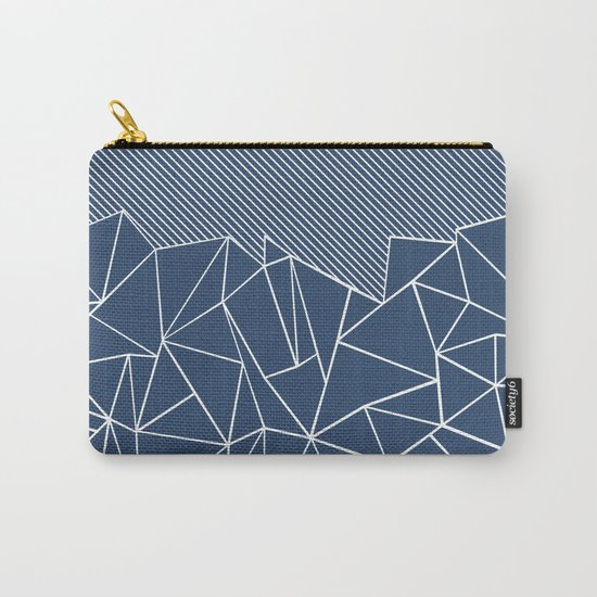 Ab Lines 45 Navy Carry-All Pouch