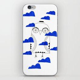 Blue Clouds iPhone Skin