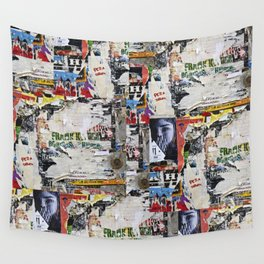 Urban collage Wall Tapestry