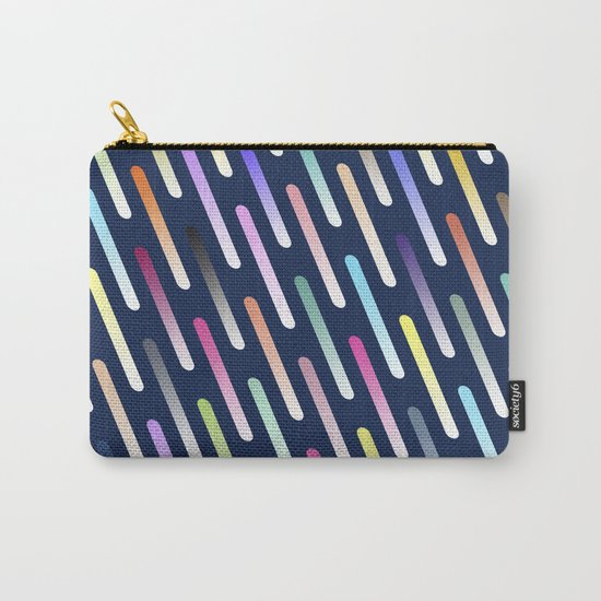 Abstract cosmic rain Carry-All Pouch