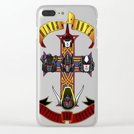 Dinos _ Bots Clear iPhone Case