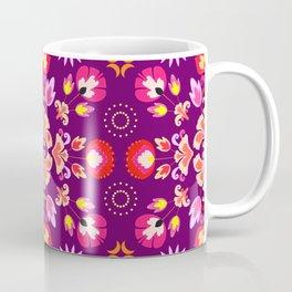 Fiesta Folk Purple #society6 #folk Coffee Mug